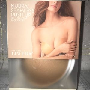 NuBra Seamless Push Up self adhesive fabric cups